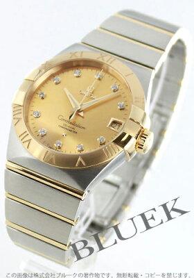 オメガ コンステレーション ブラッシュ ダイヤ 腕時計 メンズ OMEGA 123.20.38.21.58.001