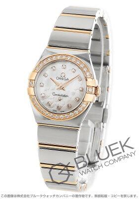 オメガ コンステレーション ポリッシュ ダイヤ 腕時計 レディース OMEGA 123.25.24.60.55.005