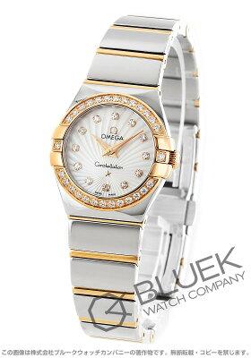 オメガ コンステレーション ポリッシュ ダイヤ 腕時計 レディース OMEGA 123.25.24.60.55.006