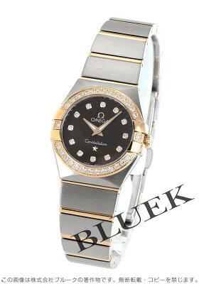 オメガ コンステレーション ブラッシュ ダイヤ 腕時計 レディース OMEGA 123.25.24.60.63.001