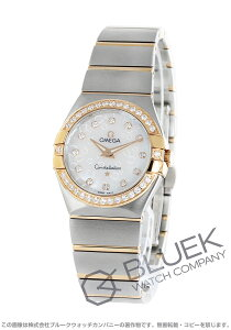 オメガ OMEGA 腕時計 コンステレーション ブラッシュ ダイヤ レディース 123.25.27.60.55.009
