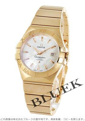 オメガ コンステレーション ブラッシュ RG金無垢 腕時計 レディース OMEGA 123.50.31.20.05.001