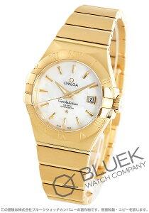 オメガ OMEGA 腕時計 コンステレーション ブラッシュ YG金無垢 レディース 123.50.31.20.05.002