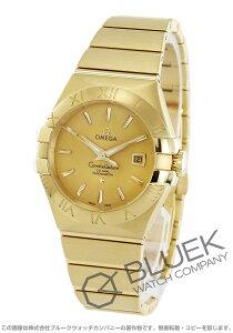 オメガ OMEGA 腕時計 コンステレーション ブラッシュ YG金無垢 レディース 123.50.31.20.08.001
