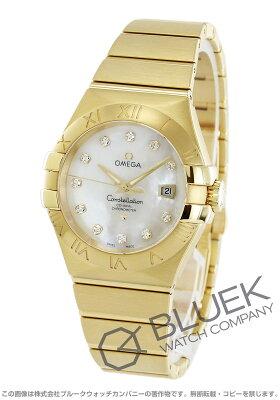 オメガ コンステレーション ブラッシュ ダイヤ YG金無垢 腕時計 レディース OMEGA 123.50.31.20.55.002