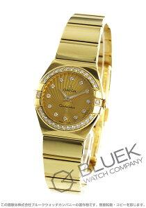オメガ OMEGA 腕時計 コンステレーション ポリッシュ ダイヤ YG金無垢 レディース 123.55.24.60.58.002