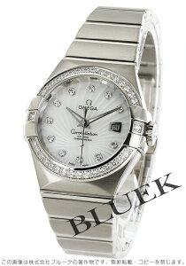 オメガ OMEGA 腕時計 コンステレーション ブラッシュ ダイヤ WG金無垢 レディース 123.55.31.20.55.003