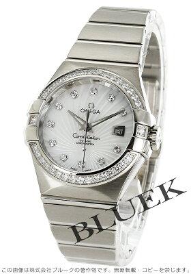 オメガ コンステレーション ブラッシュ ダイヤ WG金無垢 腕時計 レディース OMEGA 123.55.31.20.55.003
