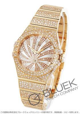 オメガ コンステレーション ラグジュアリーエディション ダイヤ RG金無垢 腕時計 レディース OMEGA 123.55.31.20.55.006