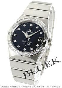オメガ OMEGA 腕時計 コンステレーション ブラッシュ ダイヤ WG金無垢 メンズ 123.55.38.21.51.001