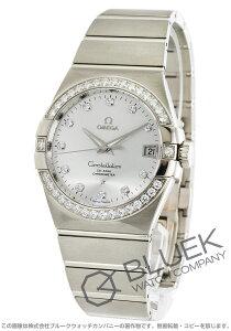 オメガ OMEGA 腕時計 コンステレーション ブラッシュ ダイヤ WG金無垢 メンズ 123.55.38.21.52.003