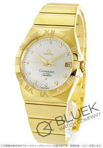 オメガ OMEGA 腕時計 コンステレーション ブラッシュ ダイヤ YG金無垢 メンズ 123.55.38.21.52.008