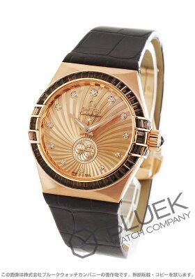 オメガ OMEGA 腕時計 コンステレーション ブラッシュ RG金無垢 アリゲーターレザー 世界限定88本 レディース 123.58.35.20.99.001