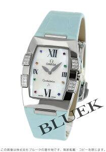 オメガ OMEGA 腕時計 コンステレーション クアドレラ ダイヤ アリゲーターレザー レディース 1886.79.33