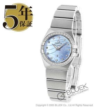 オメガ コンステレーション ブラッシュ ダイヤ 腕時計 レディース OMEGA 123.15.24.60.57.001_5