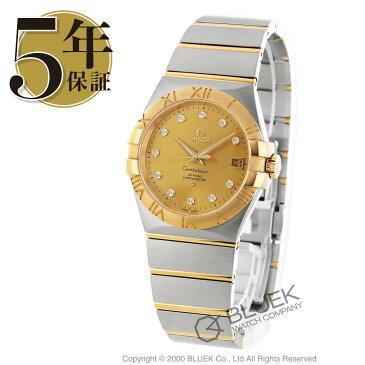 オメガ コンステレーション ブラッシュ ダイヤ 腕時計 メンズ OMEGA 123.20.35.20.58.001_8