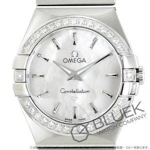オメガ コンステレーション ブラッシュ ダイヤ 腕時計 レディース OMEGA 123.15.27.60.05.001