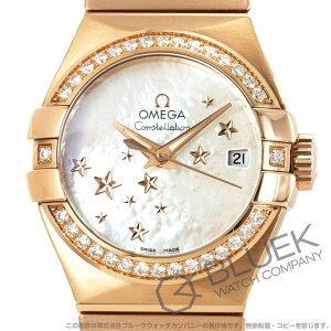 オメガ コンステレーション ブラッシュ ダイヤ RG金無垢 腕時計 レディース OMEGA 123.55.27.20.05.003