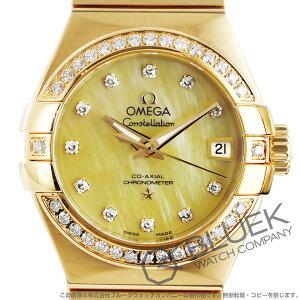 オメガ コンステレーション ブラッシュ ダイヤ YG金無垢 腕時計 レディース OMEGA 123.55.27.20.57.002