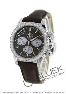オメガ OMEGA 腕時計 デビル ダイヤ アリゲーターレザー レディース 422.18.35.50.13.001