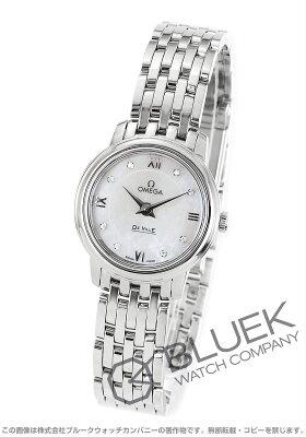 オメガ OMEGA 腕時計 デビル プレステージ ダイヤ レディース 424.10.24.60.55.001