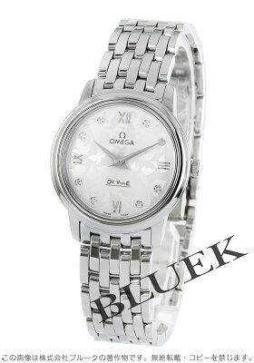 オメガ OMEGA 腕時計 デビル プレステージ バタフライ ダイヤ レディース 424.10.27.60.52.001