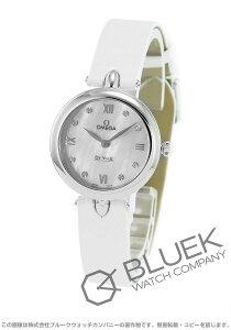 オメガ OMEGA 腕時計 デビル プレステージ ダイヤ アリゲーターレザー レディース 424.13.27.60.55.001