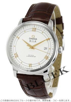 オメガ デビル プレステージ アリゲーターレザー 腕時計 メンズ OMEGA 424.13.40.20.02.002