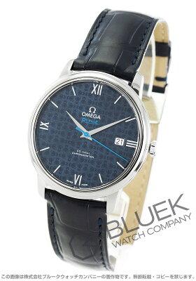 オメガ デビル プレステージ オービス アリゲーターレザー 腕時計 メンズ OMEGA 424.13.40.20.03.003