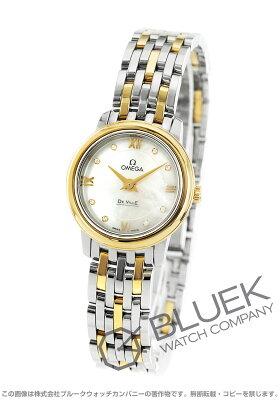 オメガ OMEGA 腕時計 デビル プレステージ ダイヤ レディース 424.20.24.60.55.001