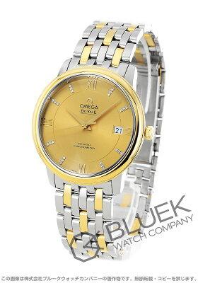オメガ デビル プレステージ ダイヤ 腕時計 メンズ OMEGA 424.20.37.20.58.001