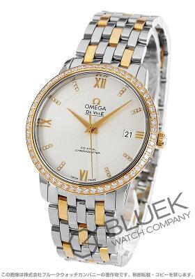 オメガ OMEGA 腕時計 デビル プレステージ ダイヤ メンズ 424.25.37.20.52.001