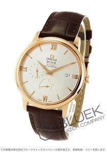 オメガ OMEGA 腕時計 デビル プレステージ RG金無垢 アリゲーターレザー メンズ 424.53.40.21.02.001