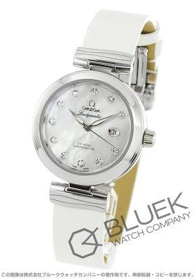 オメガ OMEGA 腕時計 デビル レディマティック ダイヤ サテンレザー レディース 425.32.34.20.55.002