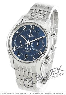 オメガ デビル コーアクシャル クロノグラフ 腕時計 メンズ OMEGA 431.10.42.51.03.001