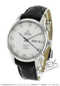 オメガ OMEGA 腕時計 デビル アニュアルカレンダー アリゲーターレザー メンズ 431.13.41.22.02.001