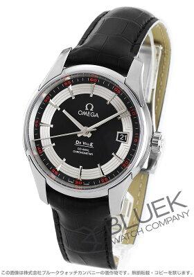 オメガ OMEGA 腕時計 デビル アワービジョン アリゲーターレザー メンズ 431.33.41.21.01.001