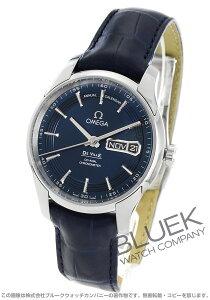 オメガ OMEGA 腕時計 デビル アワービジョン アニュアルカレンダー アリゲーターレザー メンズ 431.33.41.22.03.001