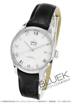 オメガ OMEGA 腕時計 デビル アワービジョン アリゲーターレザー マスタークロノメーター メンズ 433.13.41.21.02.001