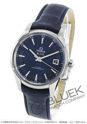 オメガ OMEGA 腕時計 デビル アワービジョン アリゲーターレザー マスタークロノメーター メンズ 433.33.41.21.03.001