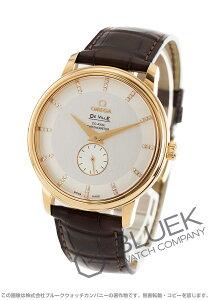 オメガ OMEGA 腕時計 デビル プレステージ ダイヤ YG金無垢 アリゲーターレザー メンズ 4613.35.02