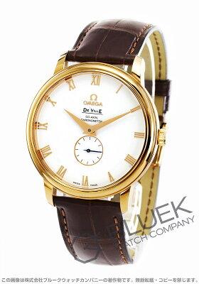 オメガ デビル プレステージ RG金無垢 アリゲーターレザー 腕時計 メンズ OMEGA 4614.2002