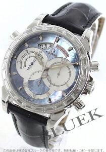 オメガ OMEGA 腕時計 デビル コーアクシャル ラトラパンテ ダイヤ アリゲーターレザー メンズ 4642.72.31
