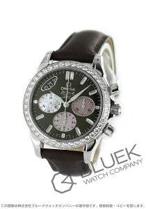 オメガ OMEGA 腕時計 デビル ダイヤ WG金無垢 クロコレザー レディース 4679.60.37