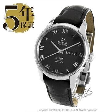 オメガ デビル アニュアルカレンダー アリゲーターレザー 腕時計 メンズ OMEGA 431.13.41.22.01.001_8
