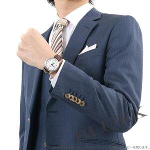 オメガ デビル プレステージ パワーリザーブ アリゲーターレザー 腕時計 メンズ OMEGA 424.13.40.21.02.002