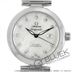 オメガ デビル レディマティック ダイヤ サテンレザー 腕時計 レディース OMEGA 425.32.34.20.55.002