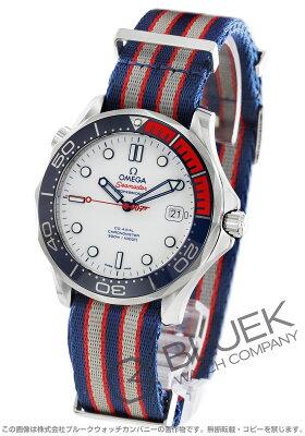 オメガ OMEGA 腕時計 シーマスター ダイバー300M コマンダーウォッチ 世界限定7007本 300m防水 替えベルト付き メンズ 212.32.41.20.04.001