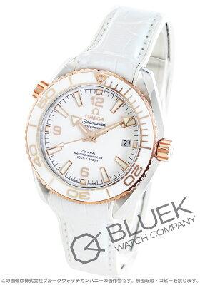 オメガ シーマスター プラネットオーシャン セラゴールド 600m防水 アリゲーターレザー 腕時計 メンズ OMEGA 215.23.40.20.04.001