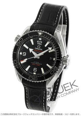 オメガ OMEGA 腕時計 シーマスター プラネットオーシャン マスタークロノメーター アリゲーターレザー 600m防水 メンズ 215.33.40.20.01.001